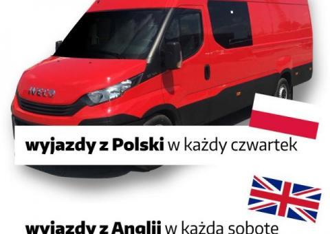 Bus Polska Anglia